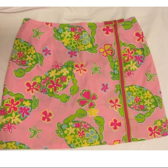 Lilly Pulitzer Pants - Lilly Pulitzer Floral Crabs Skort